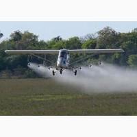 Внесение гербицидов самолетами - авиахимпрополка