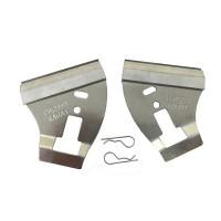 Комплект скребков чистика (1л+1п) (AA62559, A86701, A86702)