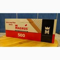 Сигаретные Гильзы с Фильтром 24 мм Magnus Extra Long Filter 500 шт