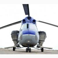 Услуги вертолета по внесению сульфат аммония