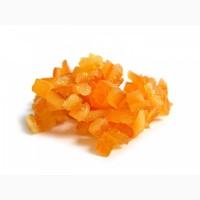 Апельсинова шкірка цукати кубиками 4*4 мм (Італія)