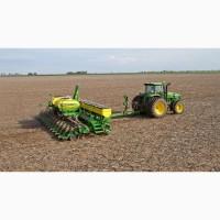 Услуги по посеву зерновых и масличных культур
