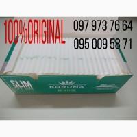 Табак, сигаретные гильзы Korona slim Menthol - 250 шт