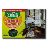 Ловушка «Глобал» (Global) от тараканов и муравьев (6 шт) оригинал