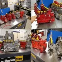 Топливный насос CAPS CASE MX285 MX 255 переоборудование P7100 case 310