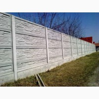 Заливка фундамента под забор. Фундамент под бетонный забор