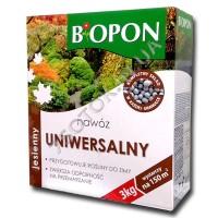 Удобрение «Биопон» (Biopon) универсал осень 3 кг, оригинал