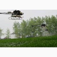 Агрохимические услуги вертолетами агродронами дельталетами беспилотниками самолетами